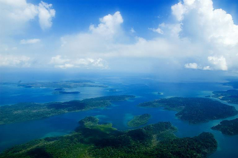 Aerial View of Andaman and Nicobar Islands