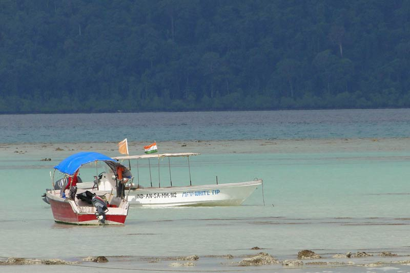 Beach in Havelock Island