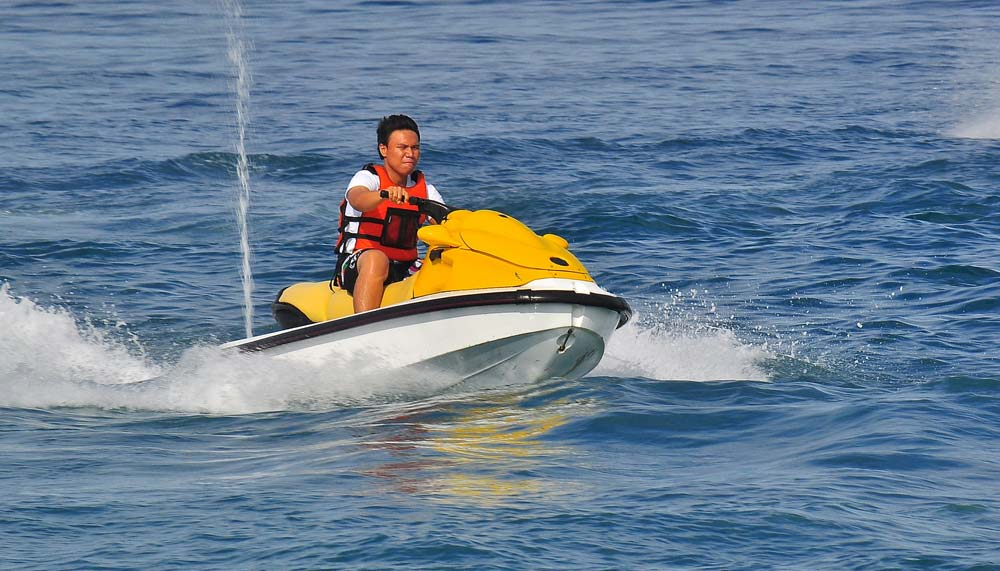 Jet Skiing in Andaman