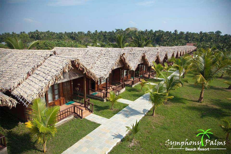 Symphony Palms Beach Resort in Havelock Island