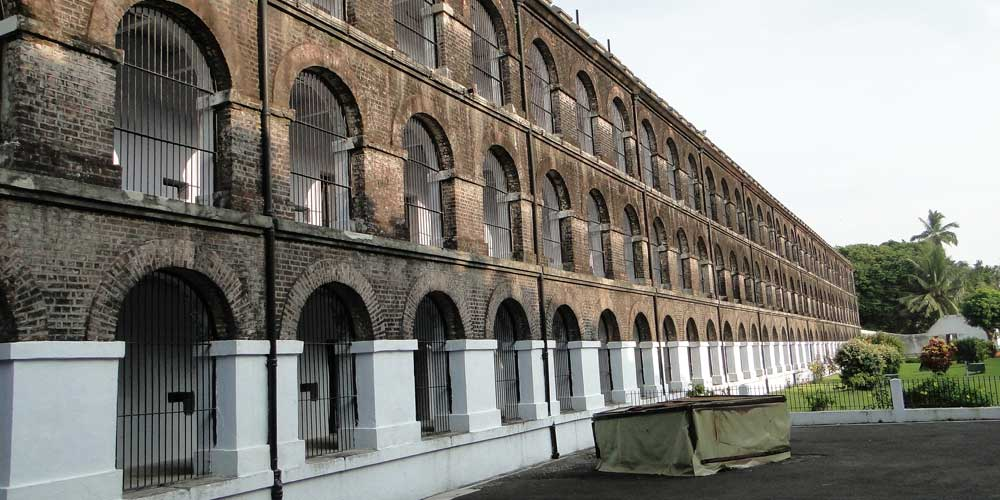 Interiors of Cellular Jail in Port Blair