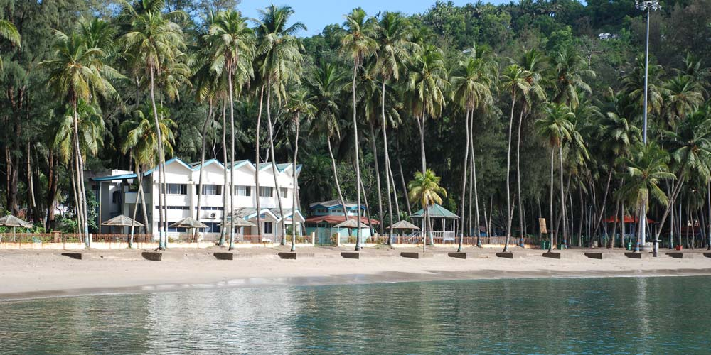 Corbyn's Cove Beach in Port Blair