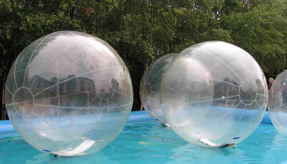 Zorbing in Andaman