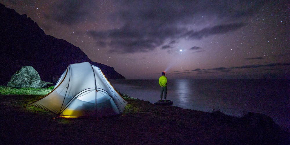 Camping in Andaman Island