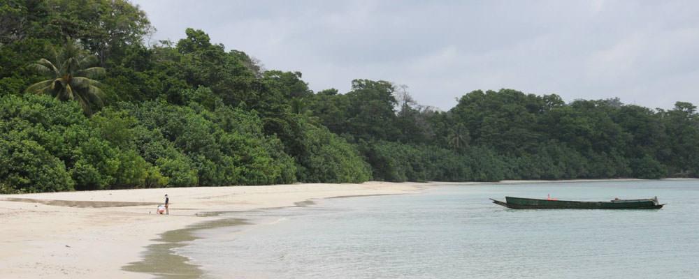 Merk Bay Beach