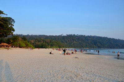Radhanagar Beach in havelock Island